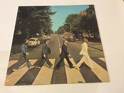 THE BEATLES ABBEY ROAD Yex750.1 Aligned Apple Stereo UK LP 1969 PCS 7088 Record