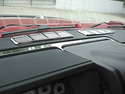 H2 Hummer SUV & SUT Chrome Billet Dash Groove Inserts 7pc