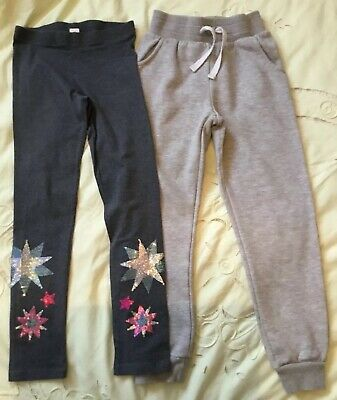 GIRLS LEGGINGS/JOGGING BOTTOMS 9yrs