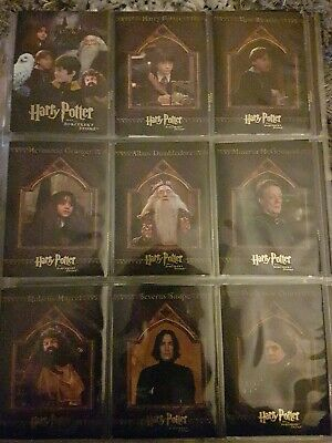 Harry Potter and the Sorcerers Stone 90 Card Base Set