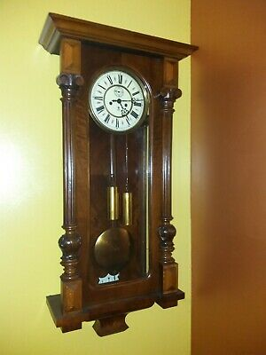 Antique Victorian  Wall Clock