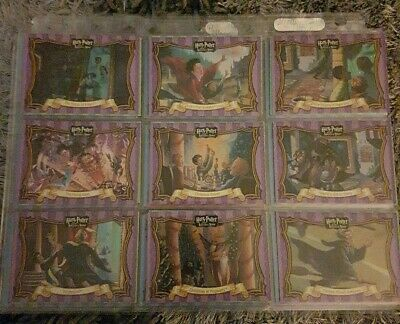 Harry Potter And The Sorcerers Stone 45 Card Set