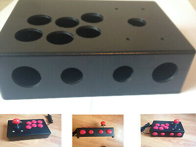 Plastic DIY Project Box Arcade Stick Retropie Mame etc