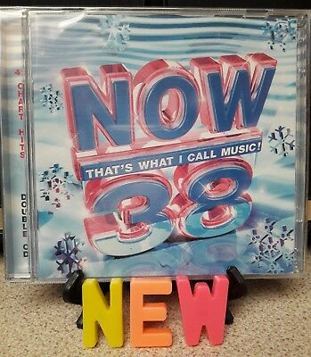 NOW THAT'S WHAT I CALL MUSIC! 38 (2 CDs - 41 HITS) NEW AND FACTORY SEALED