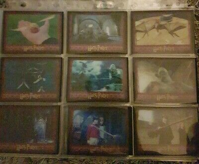World Of Harry Potter 3D Series 1 Complete 72 Card Base Set