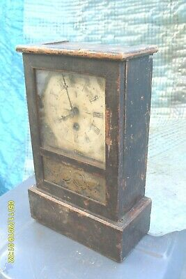 Mantel  Clock Time  Piece Movement  For Tidy Up  Key  Pendulum Ticks  Spring  Ok