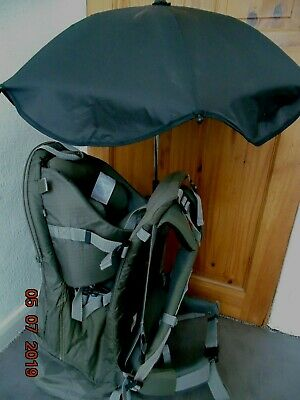 Mothercare Backpack Baby Carrier Blanket & Umbrella Included FREE P&P