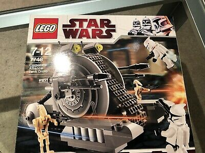 Lego Star Wars - Corporate Alliance Tank Droid - Set Nr. 7748