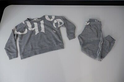 Chloe Grey Tracksuit Age 10 Years Vgc Jumper & Bottoms