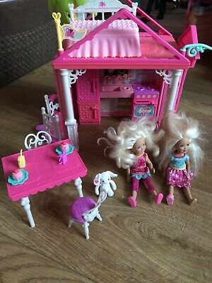 Barbie Chelsea Club House with Dolls and Accessories