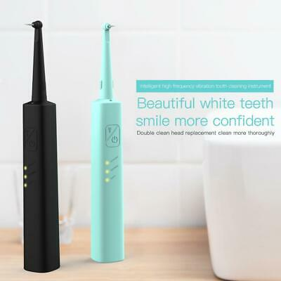 Portable Electric Sonic Dental Scaler Tooth Calculus Remover Tooth Tartar Tool