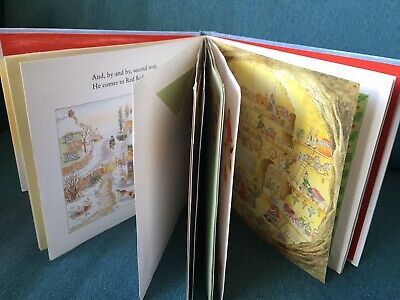 The Jolly Christmas Postman Book - Small A5