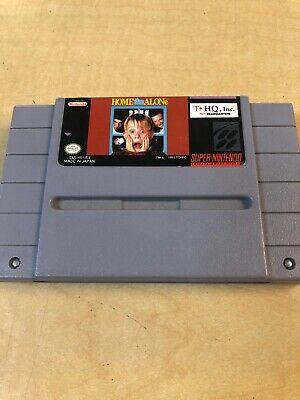 Home Alone Game Cartridge For The Super Nintendo NES