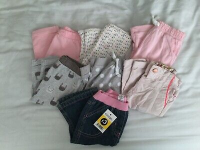 Girls bundle of pants aged 3-6 months