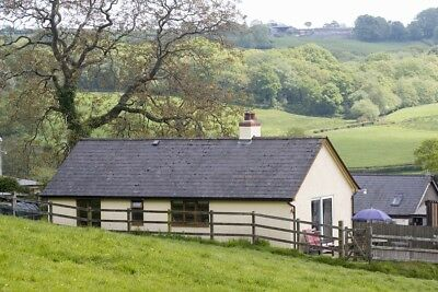 Self catering bungalow on the Devon/ Somerset border in beautiful countryside.