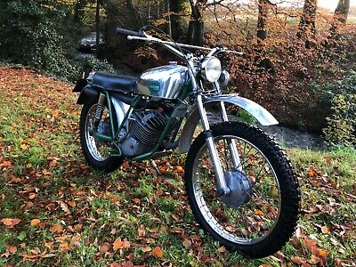 1972 Greeves 175cc Pathfinder Enduro 6-speed Puch engined twinshock motorcycle