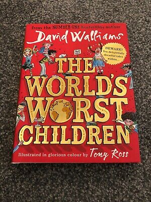 The World's Worst Children by David Walliams (Hardback, 2016)