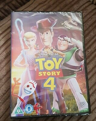 Toy Story 4 [DVD] RELEASED 21/10/2019 Brand New  Sealed