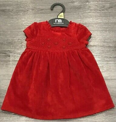 Mothercare Baby Girls Pretty Party Dress Age Up To 1 Month New With Tags