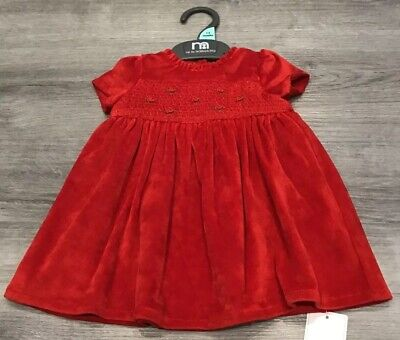 Mothercare Baby Girls Pretty Party Dress Age 1-3 Months New With Tags
