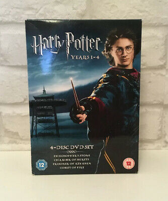 Harry Potter Collection - Years 1-4 (DVD, 2006, 4-Disc Set, Box Set)