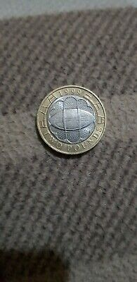 £2 Pound Rugby World Cup 1999 - Circulated