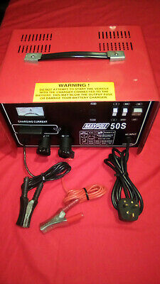 Maypole 50S Battery Charger 12/24V 30A Super Fast Charger