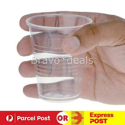 200ml Clear Disposable Plastic Cups Party Drinking Water Coffee Cup Reusable J