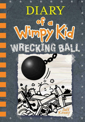 Wrecking Ball (Diary of a Wimpy Kid 14) By Jeff Kinney 2019🔥🔥🔥🔥E-B-0-0-K