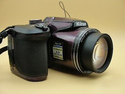 Nikon COOLPIX B500 Digital Camera Plum / Purple