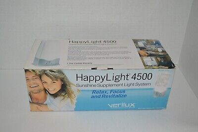 Verilux Happy Light 4500 Sunshine Supplement System VT03JJ1