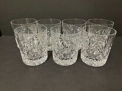 "7 Mint Atlantis Bel Air Double Old Fashioned Tumblers    3 3/4"" X 3 1/4"""