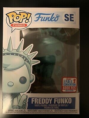 Funko Pop Freddy Funko Statue of Liberty NYCC Exclusive