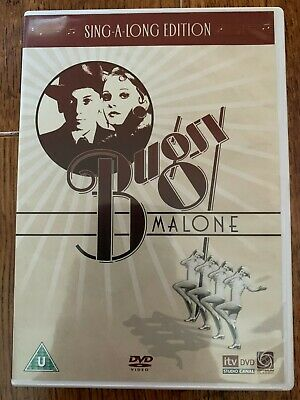 Bugsy Malone DVD 1978 Musical Movie Classic with Jodie Foster and Scott Baio