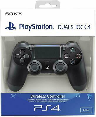 Sony Original PS4 Wireless Dualshock 4 Controller Modell V2 NEU OVP Jet Black