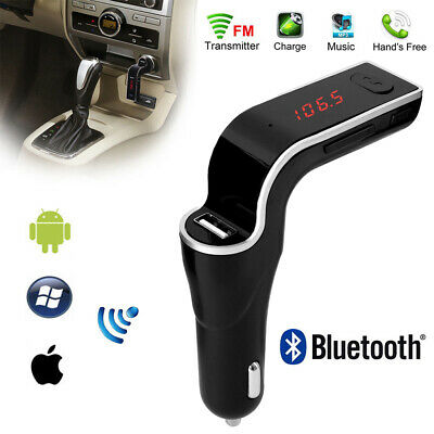 Handsfree Wireless Bluetooth Car Kit USB Charger FM Transmitter Radio MP3 Player
