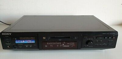 Sony Mini Disk Player Deck  MDS-JE640 Completo