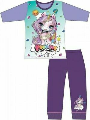 Poopsie Slime Surprise Unicorn Pyjamas Childrens Kids Girls PJs Age 4-10 Years