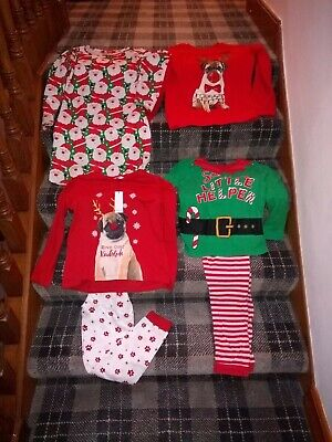 Girls Christmas Bundle PJ's Dress And Jumper Age 9.