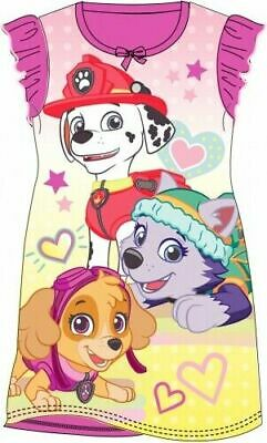 Paw Patrol Skye Childrens Kids Girls Pink PJs Nightdress Nightie Age 2-8 Years