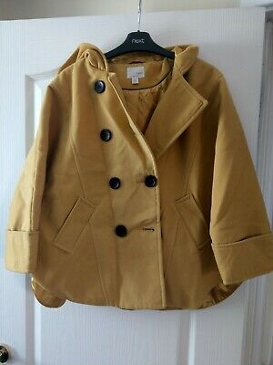 Girls batwing coat from Next size 13-14 years