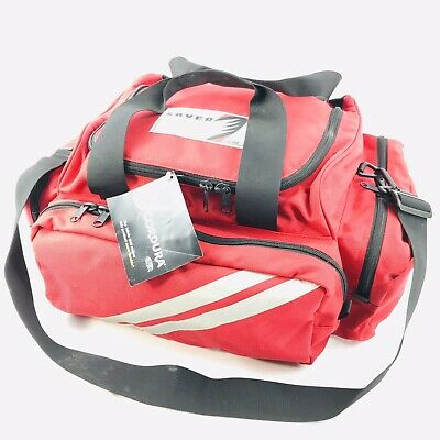 Ferno Saver EMS ALS CPR Emergency Trauma Bag Removable Padded Dividers 3 Pockets