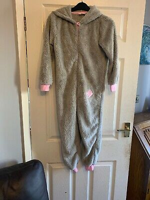 Girls Fluffy  Me To You Bear Next One Piece All In One Nightwear  Age 8-10