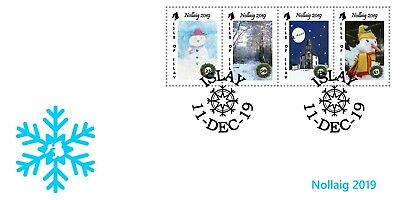 "GB Local stamps: Isle of Islay (2019): ""Christmas 2019"" FDC"