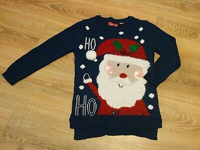 Boys Girls Unisex Interactive Christmas Jumper Age 6-7 Years Tu