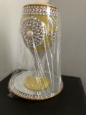 Traditional Indian Pakistani Wedding Dhoodh Pilai Glass Mehndi Festive Decor