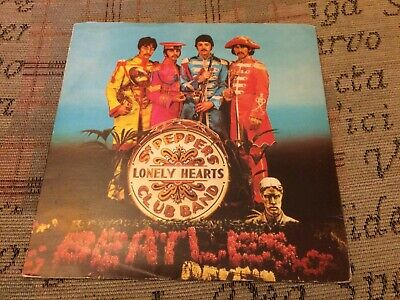 The Beatles SGT Peppers Stunning Rare 1980's UK 7""