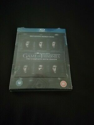 Game of Thrones The Complete 6th Season Blu-ray - New