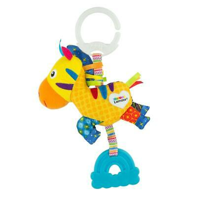 Lamaze MINI CLIP & GO ZERO THE ZEBRA Baby Stroller Activity Soft Toy BNIP