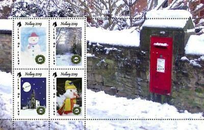 "GB Local stamps: Isle of Islay (2019): ""Christmas 2019"" mini sheet"